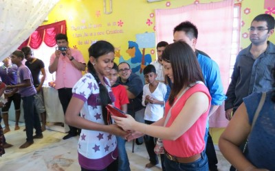 Pay It Forward: A Christmas Celebration with Less Fortunate Children