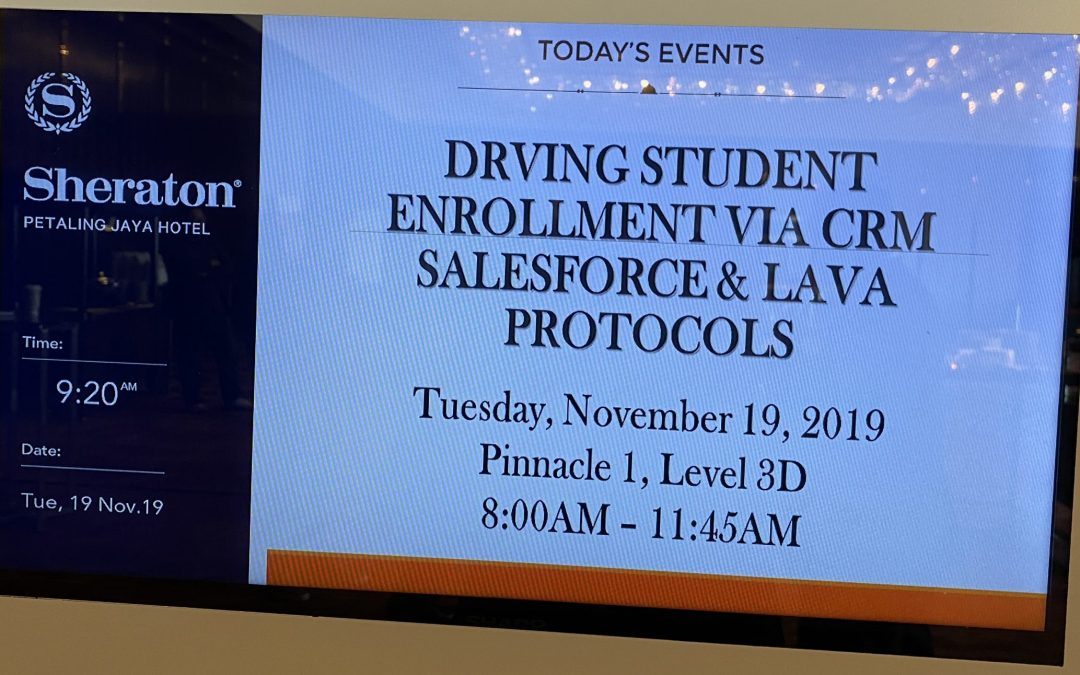 Driving Student Enrollment via CRM